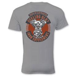 Sons of Arthritis Men's Iron Supplement Gray T-Shirt