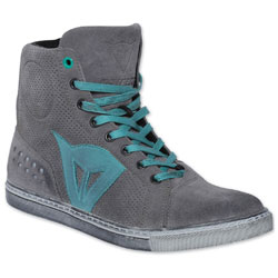 Dainese Women's Street Biker Air Gray/Aquamarine Shoes