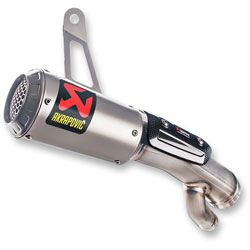 Akrapovic GP Shorty Round TI Slip-On Muffler