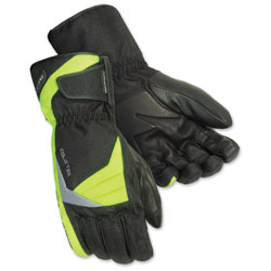 Tour Master Men's Cold-Tex 3.0 Black/Hi-Viz Gloves