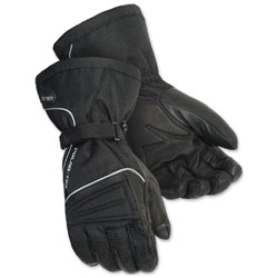 Tour Master Men's Polar-Tex 3.0 Black Gloves