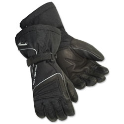 Tour Master Women's Polar-Tex 3.0 Black Gloves