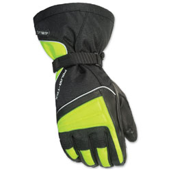 Tour Master Men's Polar-Tex 3.0 Black/Hi-Viz Gloves