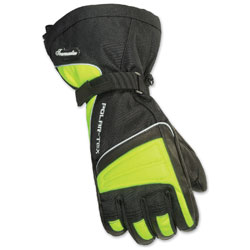 Tour Master Women's Polar-Tex 3.0 Black/Hi-Viz Gloves
