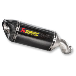 Akrapovic Hex CF/CF Slip-on muffler