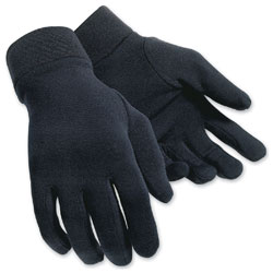 Tour Master Men's Fleece Black Glove Liners