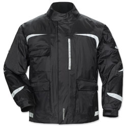 Tour Master Men's Sentinel 2.0 Black Rain Jacket