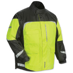 Tour Master Men's Sentinel 2.0 Hi-Viz/Black Rain Jacket