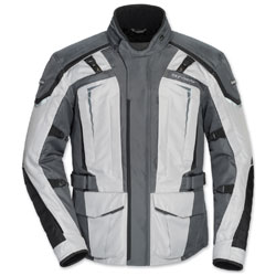 Tour Master Men's Transition 5 Light Gray/Gunmetal Jacket