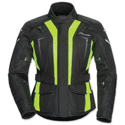 Tour Master Women's Transition 5 Hi-Viz/Black Jacket