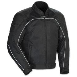 Tour Master Men's Intake Air 4 Black Jacket