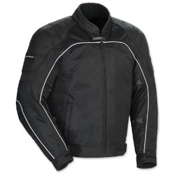 Tour Master Men's Intake Air 4 Black Jacket