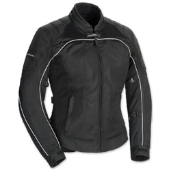 Tour Master Women's Intake Air 4 Black Jacket