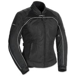 Tour Master Women's Intake Air 4 Black Jacket