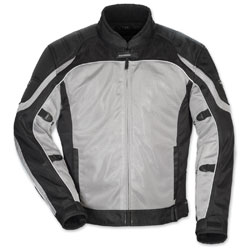 Tour Master Men's Intake Air 4 Silver/Black Jacket