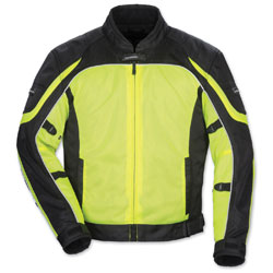 Tour Master Men's Intake Air 4 Hi-Viz/Black Jacket