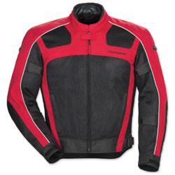 Tour Master Men's Draft Air 3 Red/Black Jacket