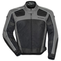 Tour Master Men's Draft Air 3 Gray/Black Jacket