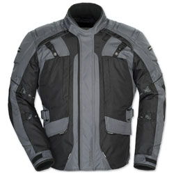 Tour Master Men's Transition 4 Gunmetal/Black Jacket