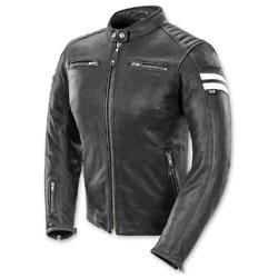Joe Rocket Women's Classic '92 Black/White Leather Jacket