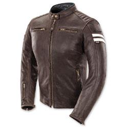 Joe Rocket Women's Classic '92 Brown/Cream Leather Jacket