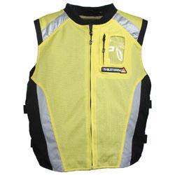 Joe Rocket Men's Military Spec Yellow Mesh Vest