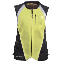 Joe Rocket Women's Military Spec Yellow Mesh Vest