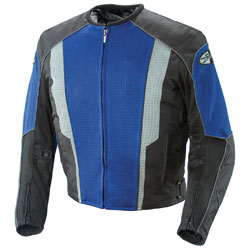 Joe Rocket Men's Phoenix 5.0 Blue/Black Mesh Jacket