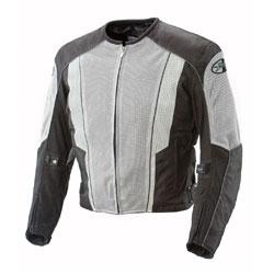 Joe Rocket Men's Phoenix 5.0 Gray/Black Mesh Jacket