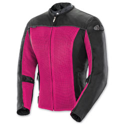 Joe Rocket Women's Velocity Mesh Pink/Black Jacket