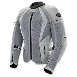Joe Rocket Women's Cleo Elite Mesh Silver Jacket