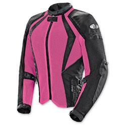 Joe Rocket Women's Cleo Elite Mesh Pink Jacket