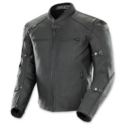 Joe Rocket Men's Hyperdrive Black Leather Jacket