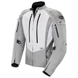 Joe Rocket Women's Atomic 5.0 White/Silver Jacket