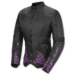 Joe Rocket Women's Heartbreaker 3.0 Purple/Black Jacket