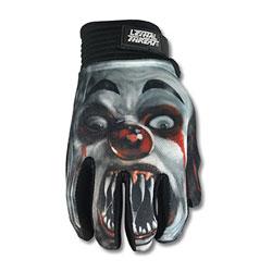 Lethal Threat Men's Killer Clown Black Gloves