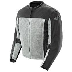 Joe Rocket Men's Velocity Mesh Gray Jacket