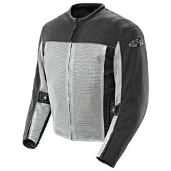 Joe Rocket Men's Velocity Mesh Gray Jacket