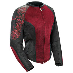 Joe Rocket Women's Cleo 2.2 Wine Jacket