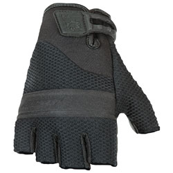 Joe Rocket Men's Vento Fingerless Black Gloves