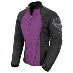 Joe Rocket Women's Alter Ego 3.0 Mesh Purple/Black Jacket