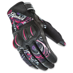 Joe Rocket Women's Cyntek Eye Candy Gloves