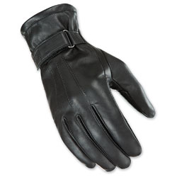 Joe Rocket Women's Jet Touch Screen Black Leather Gloves