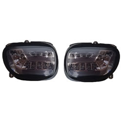 PathfinderLED Dynamic Sequential Smoke LED Front Signals with Daytime Running Lights