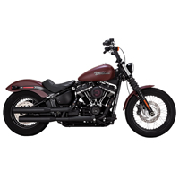 Vance & Hines Eliminator 300 Slip-on Mufflers Wrinkle Black