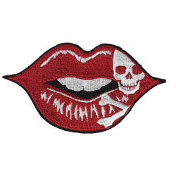 Lethal Threat Ruby Skull Lips 3.75