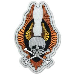 Lethal Threat Winged Vin Skull 3.75