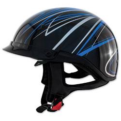 Zox Roadster DDV Freehand Blue Half Helmet
