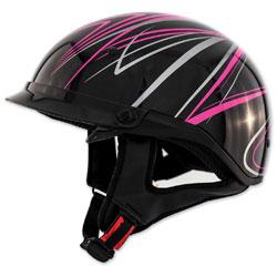 Zox Roadster DDV Freehand Pink Half Helmet