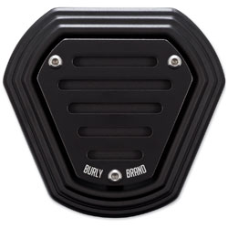 Burly Brand Black Power Coated Hex Air Cleaner
